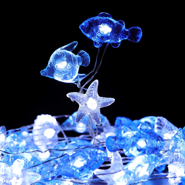 Ocean gifts Crystal Sea Life Fairy Lights