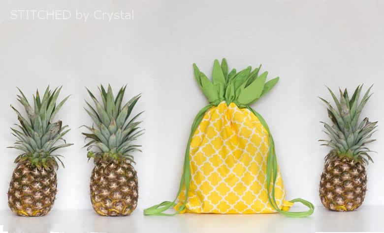 Pineapple themed  DIY gift
