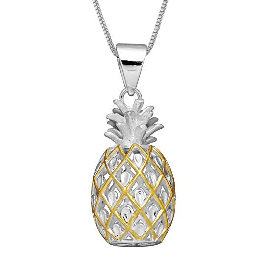 Pineapple themed Jewelry gifts for young women and teen girls