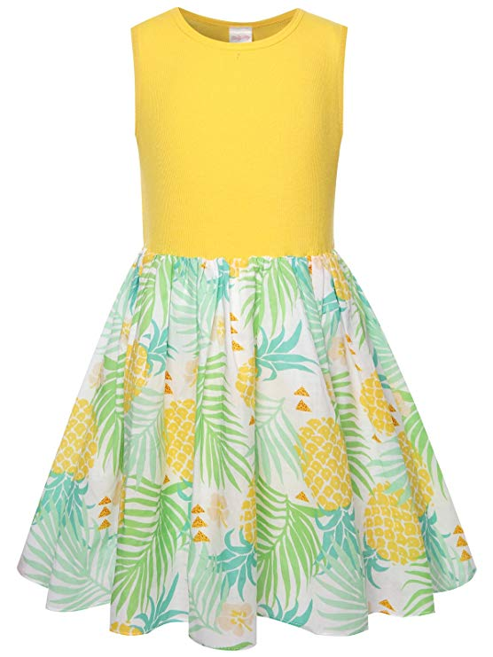Pineapple gifts Cute Dress for Girls