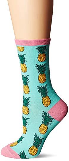 Pineapple gifts themed socks
