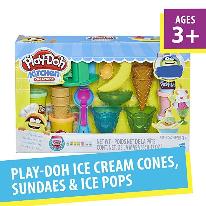 Ice cream gift idea for kids: Play-Doh Ice Cream Party Dough Art