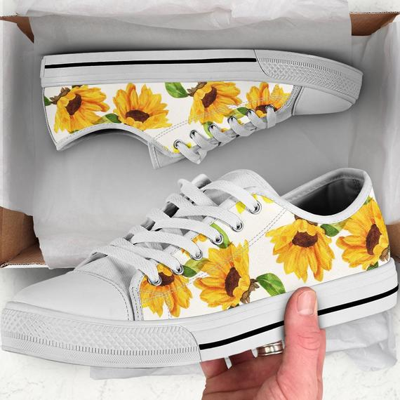 Sunflower themed Sneakers