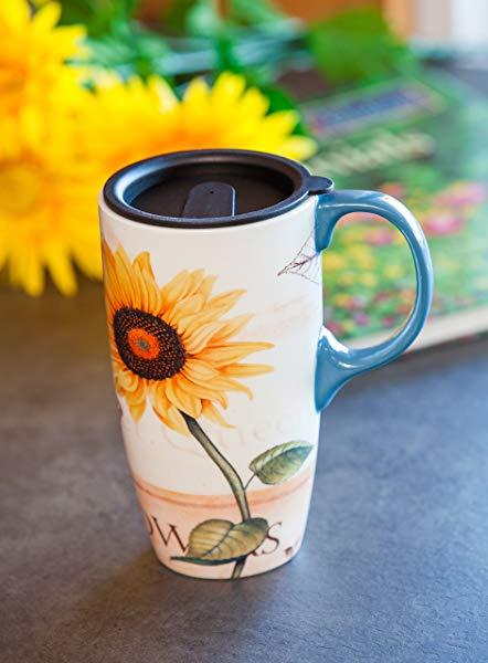 Beautiful sunflower themed items