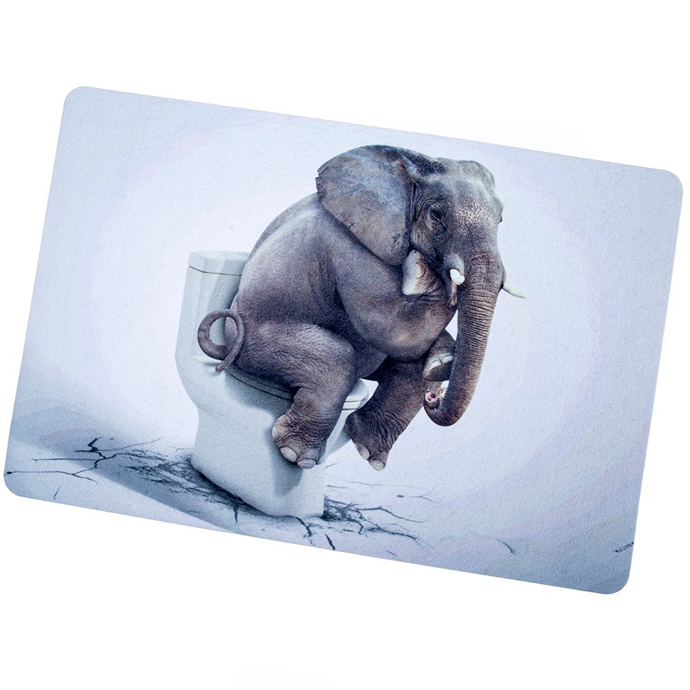 Elephant Floor Mat Gag Gift Idea
