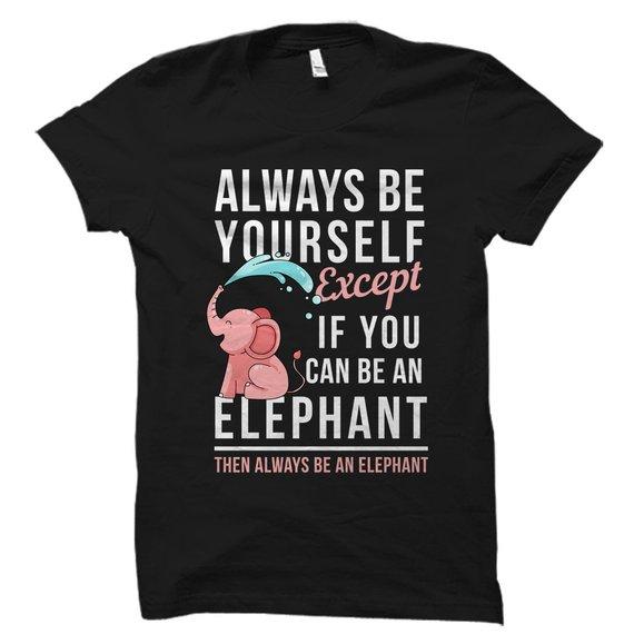Elephant Lover Gift T-Shirt