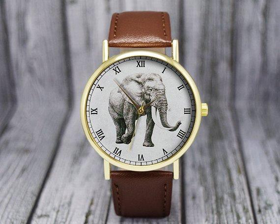 Elephant themed Watch