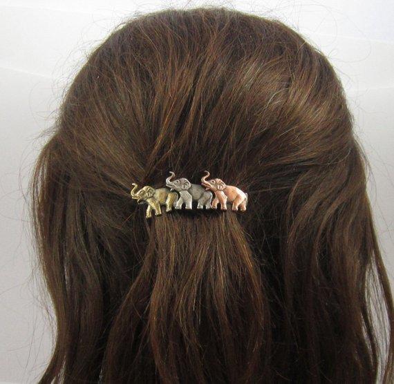 Elephant Hair Clip