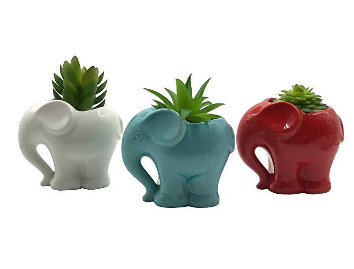 Elephant gifts Plant Pots