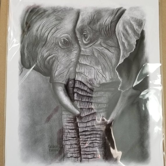 Elephant Gifts Art Print