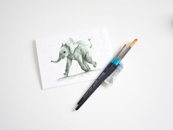 Elephant gifts Card