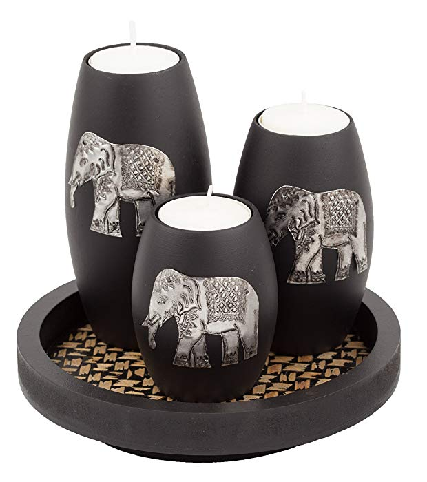Elephant Gifts Candle Holders