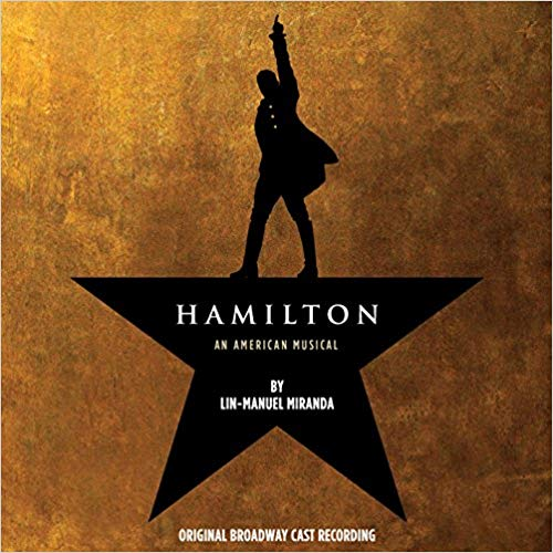 """""""Hamilton"""" Broadway Soundtrack music gift for 10-year-old girls"""