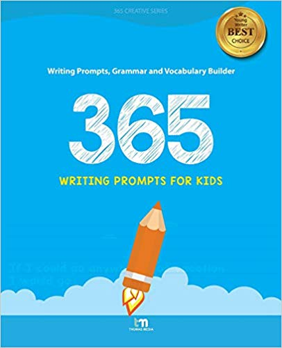 #12 Gift for Songwriters: 365 Writing Prompts for Kids by Thomas Media