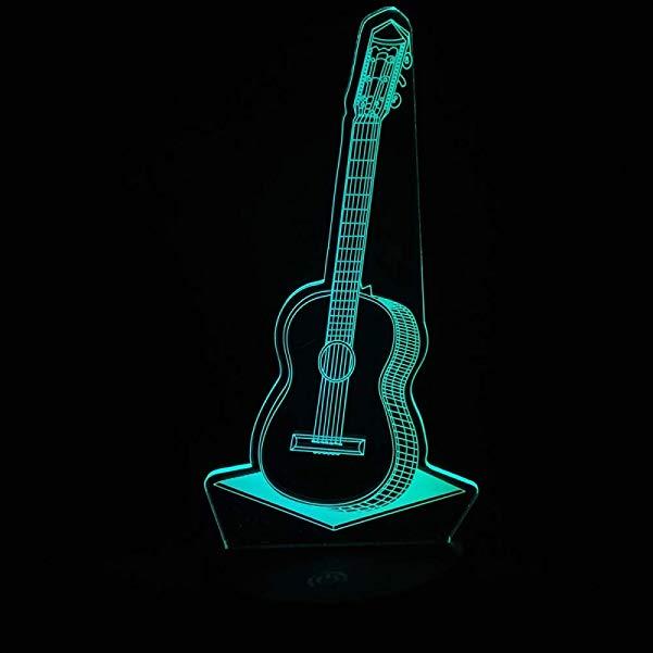 Country music gift: 3D LED Night Light