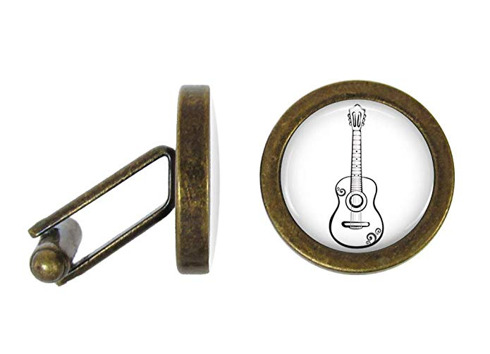 Country music gift: Acoustic Guitar Cuff Links
