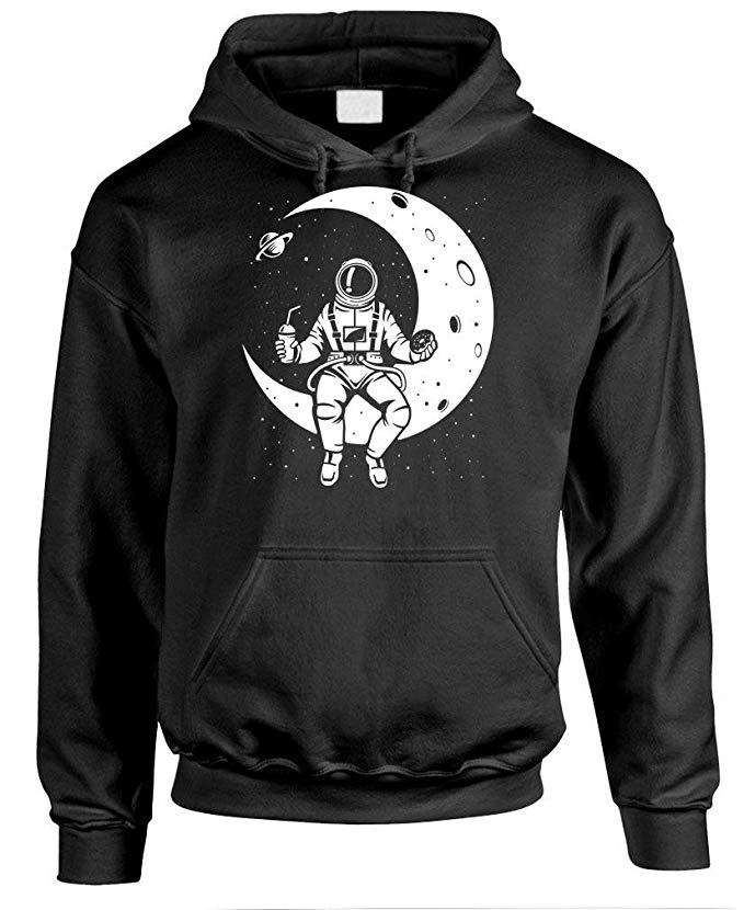Astronaut on the Moon Hoodie gift for him