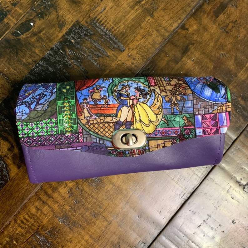 Beauty And The Beast Clutch Wallet