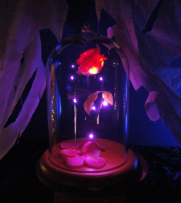 Beauty and the Beast Presents Enchanted Rose