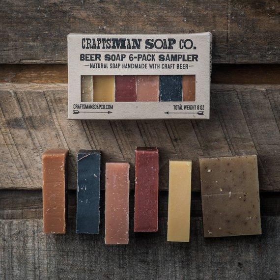 Housewarming gift for single guy Beer Soap