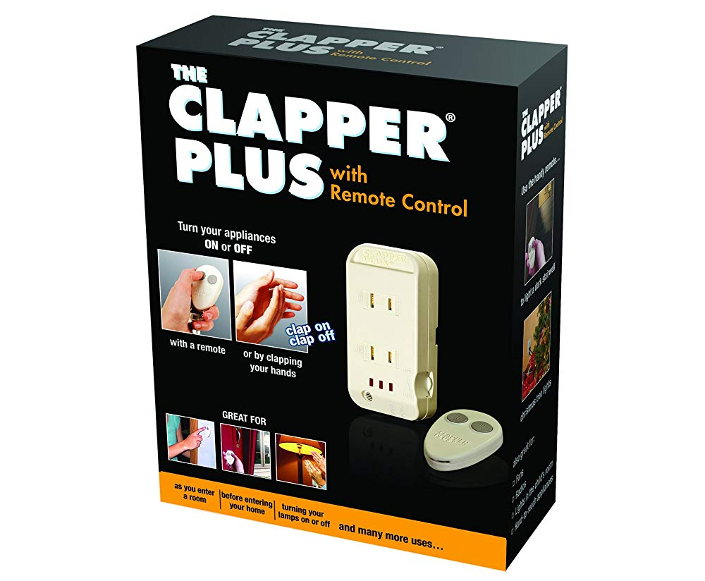 Birthday Gifts For 70 Year Old Man The Clapper Plus Sound Activated Light Switch