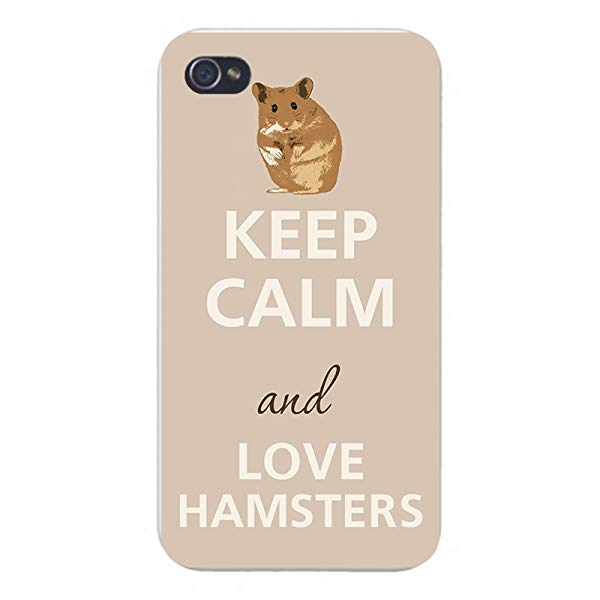 Hamster gift lover idea Keep Calm and Love Hamsters