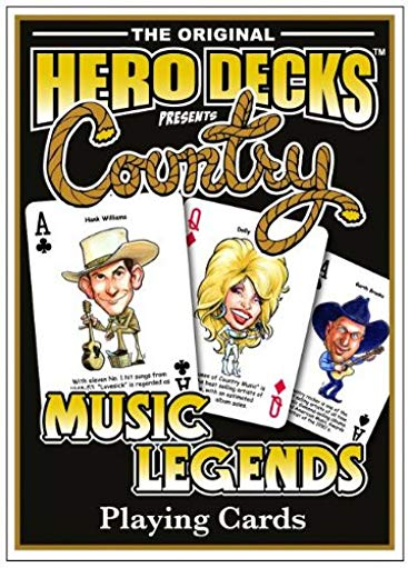 Country music gift: Country Music Legends Playing Cards