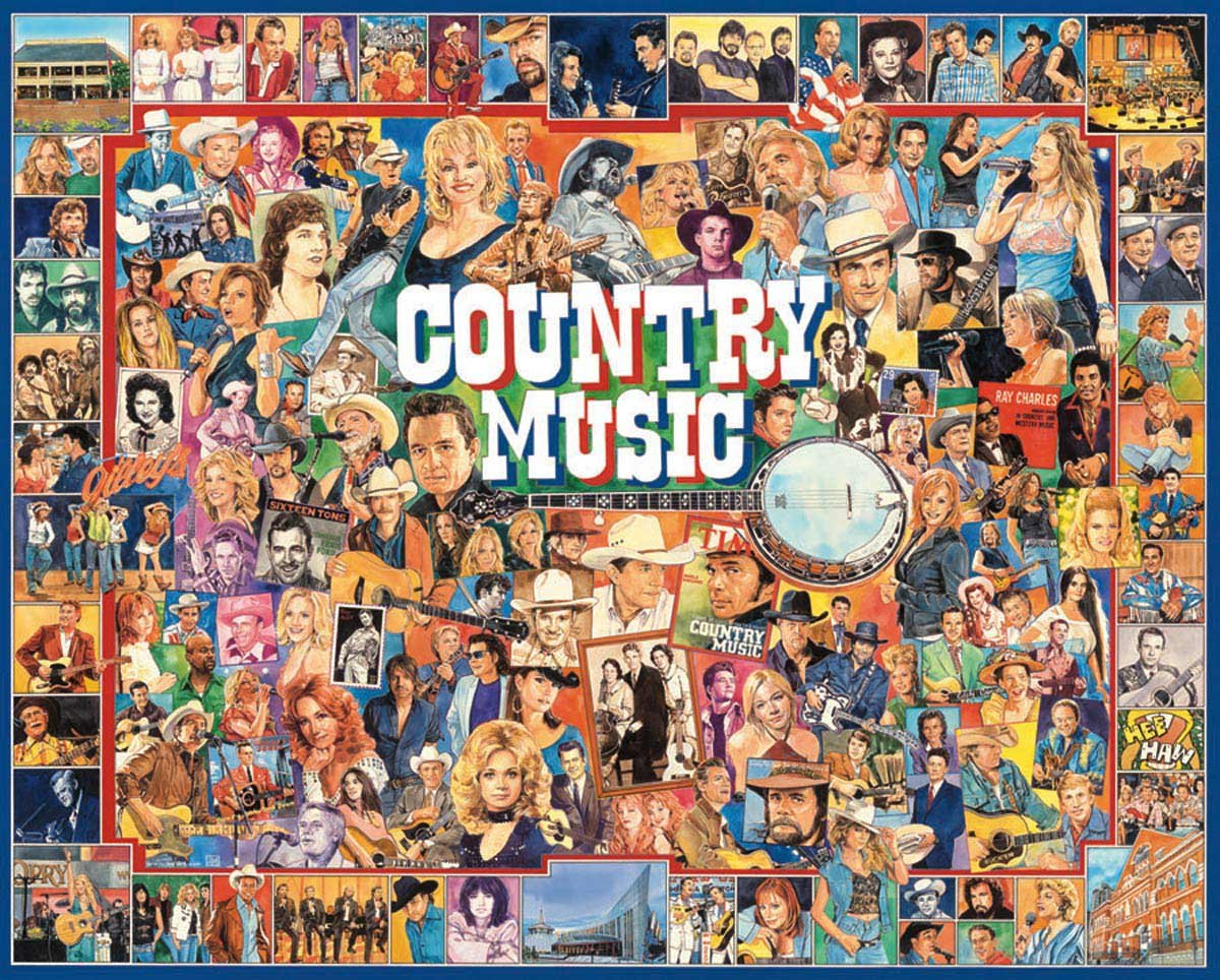 Country music gift: Country Music Puzzle