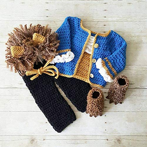 """Beauty and the Beast gift ideas: Crochet """"Beast"""" Baby Costume"""