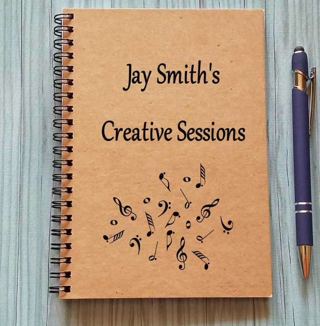 #2 Gift for Songwriters: Custom Notebook