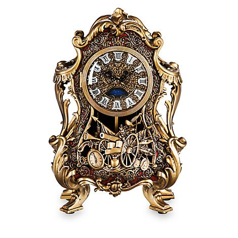 Exclusive gift for hardcore Beauty and Beast fans - Disney Cogsworth Limited Edition Clock