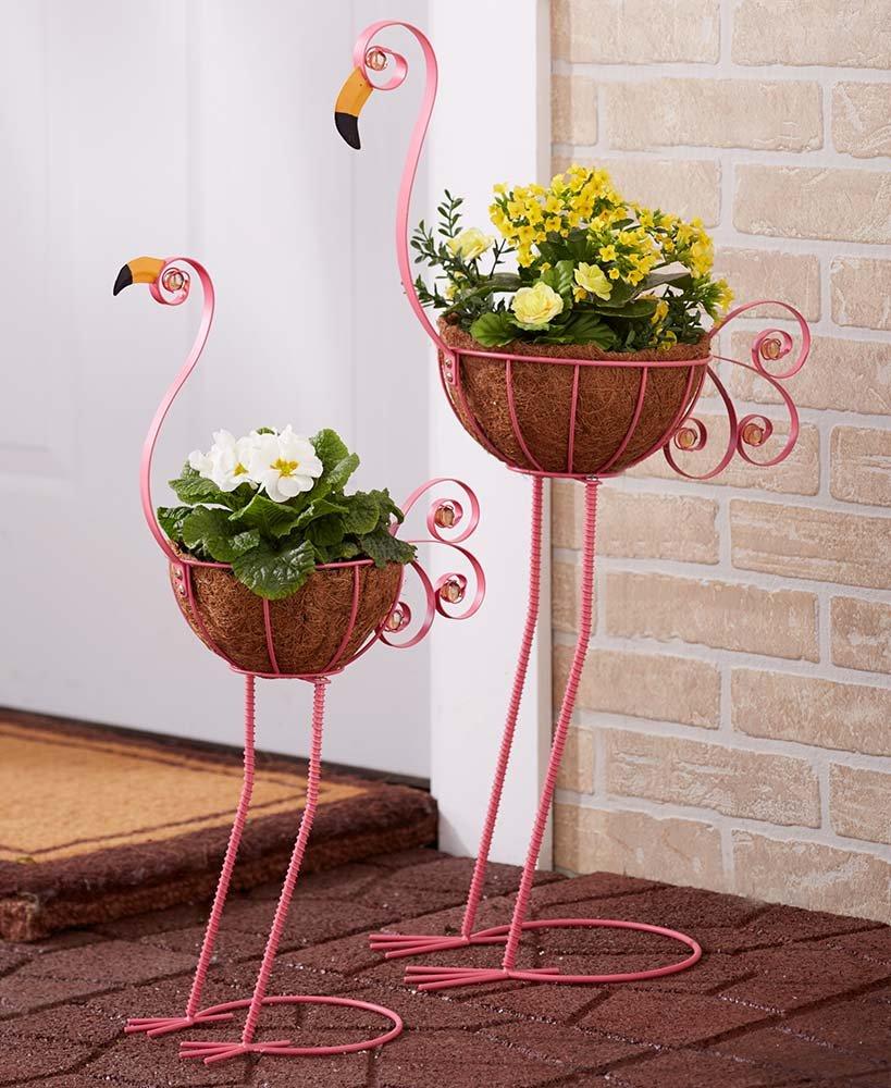 Flamingo gift ideas Bird Planters
