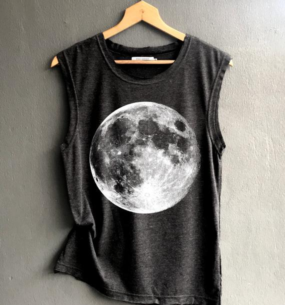 Moon lovers gifts: Full Moon Shirt