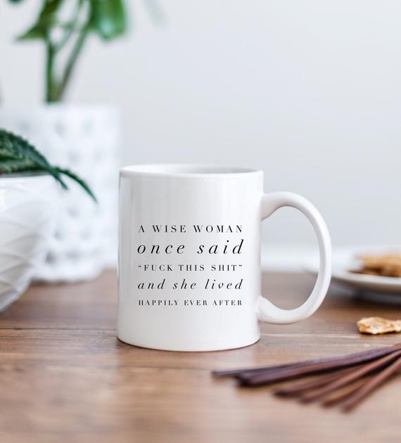Funny Divorce Sassy Gift Mug