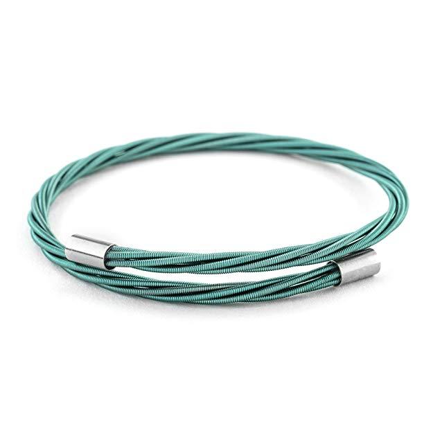 Country music gift: Guitar String Bracelet