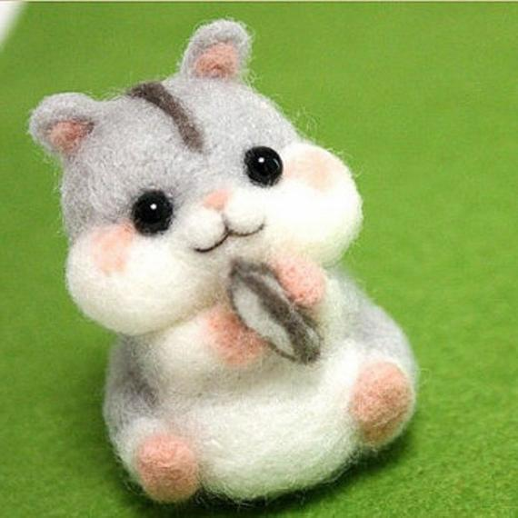 If you looking for handmade hamster gift this is great choice