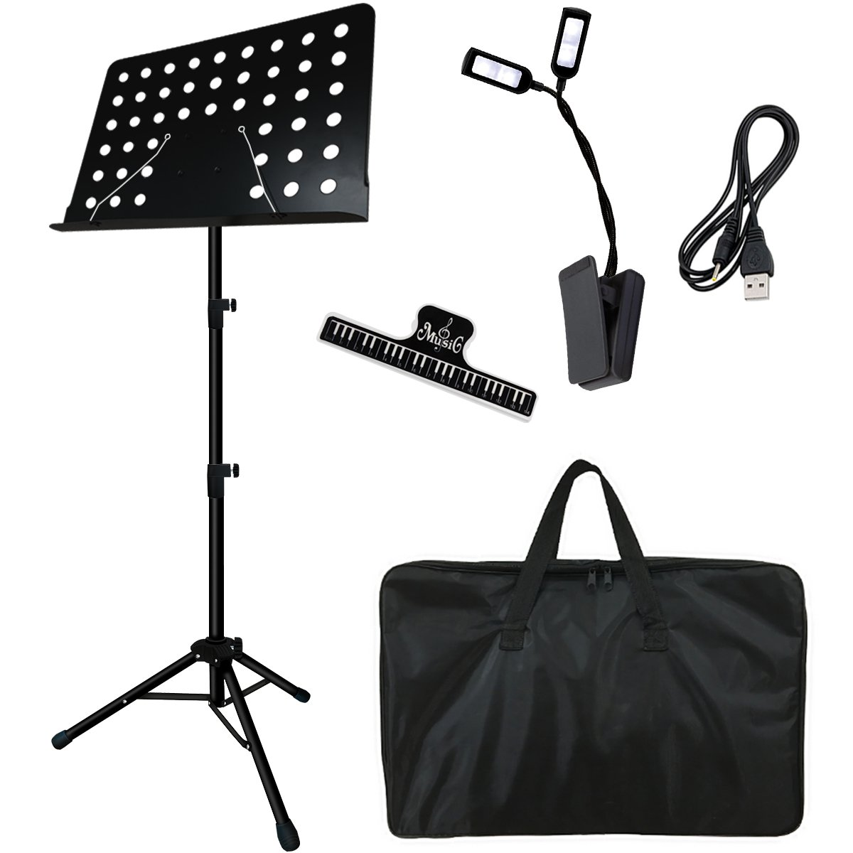 #21 Gift for Songwriters: Kasonic Professional Music Stand Set