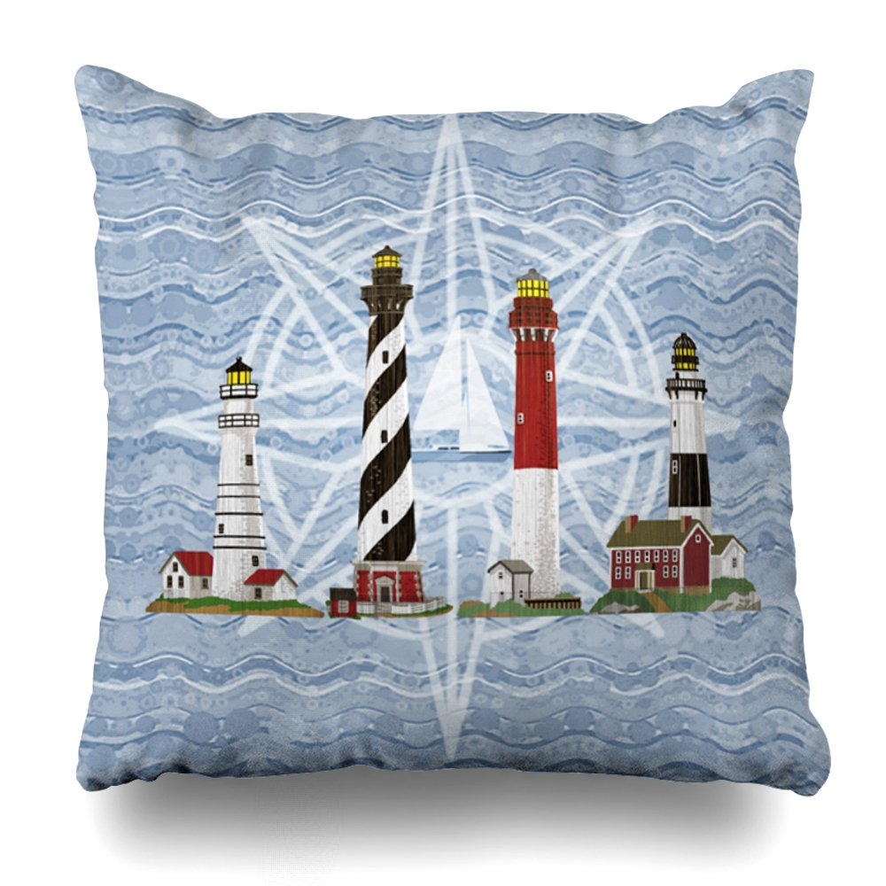 Lighthouse Decorative Pillow Covers