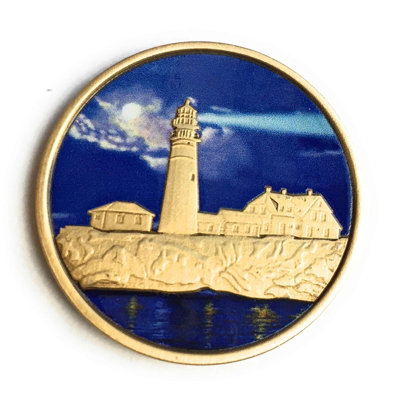 Lighthouse Fog Light Prayer Medallion