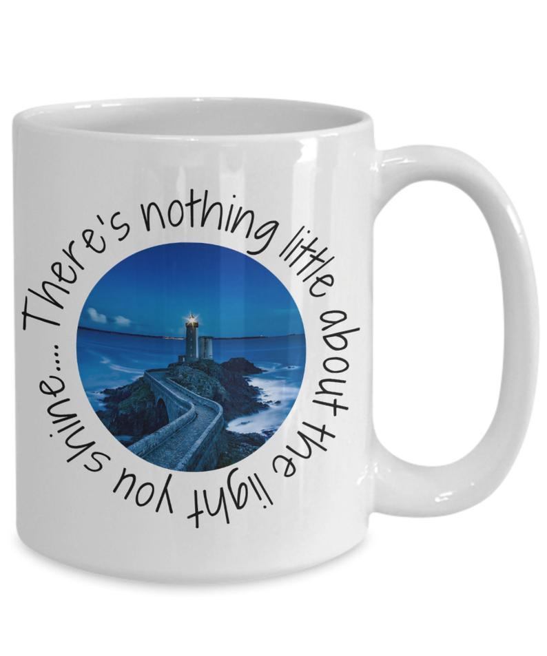 Lighthouse gift mug