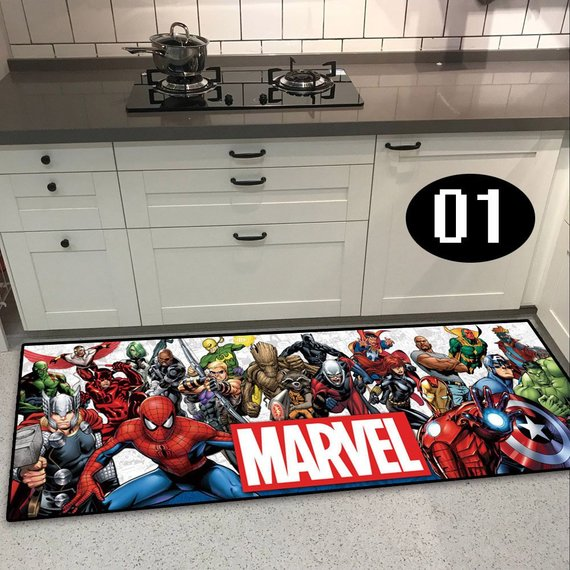 Housewarming present for a newly-separated friend Marvel Floor Rug
