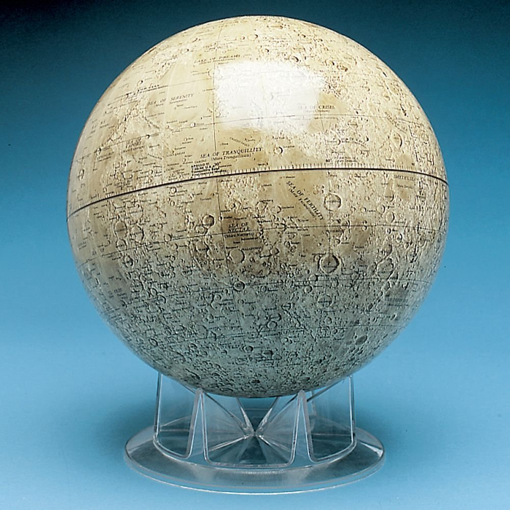 Moon Globe - one of the best Lunar Themed Gift