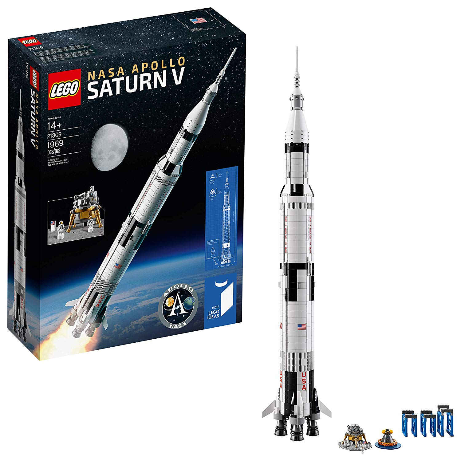 NASA Apollo Saturn V 21309 Building Kit