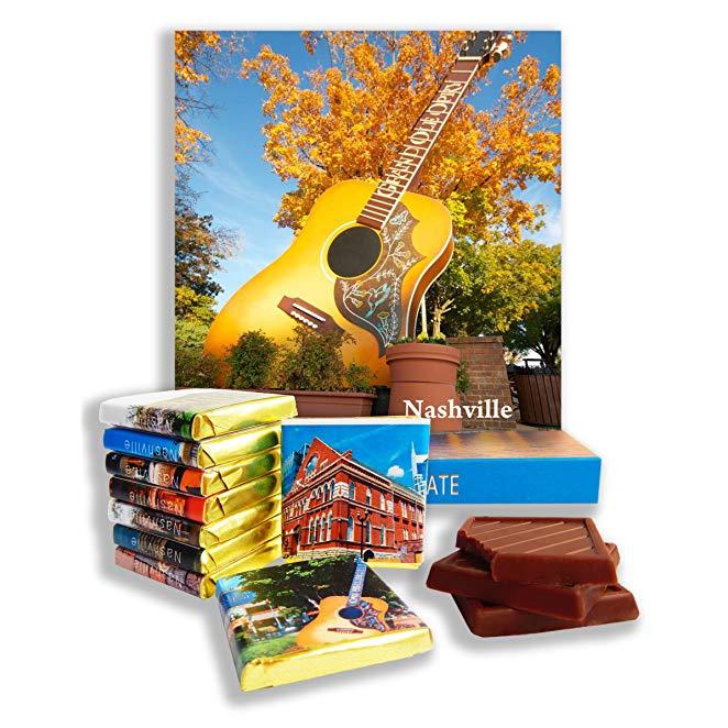 Country music gift: Nashville Chocolate Souvenir