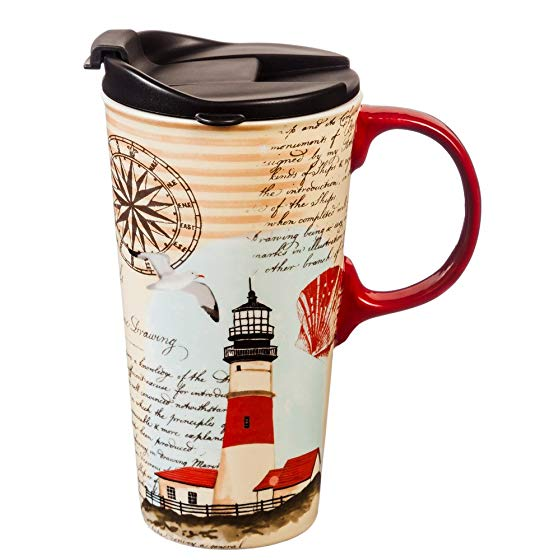 Northeast Lighthouse Travel Mug