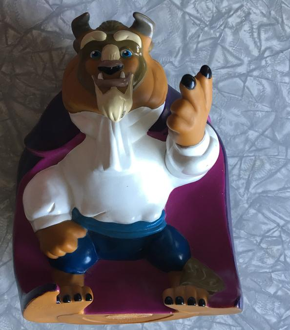 Piggy Bank Beauty and the Beast themed gift idea