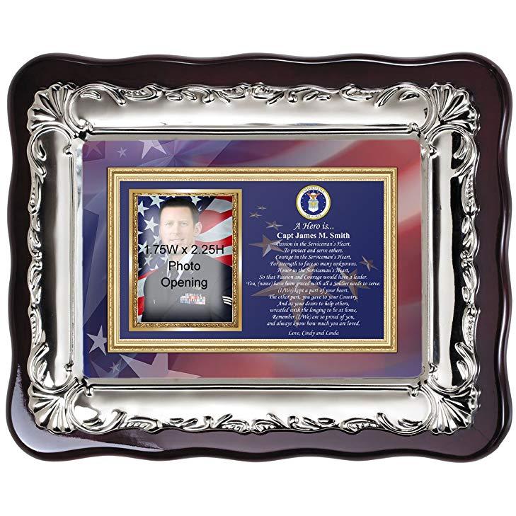 Police retirement gifts: Custom Photo Frame