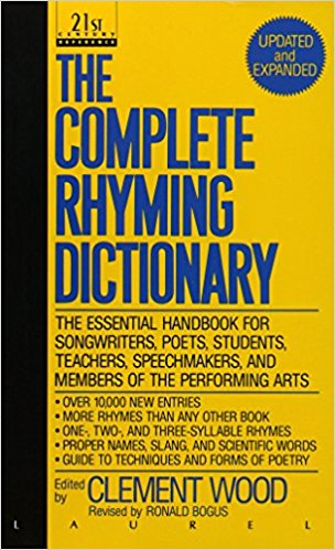 #4 Gift for Songwriters: The Complete Rhyming Dictionary
