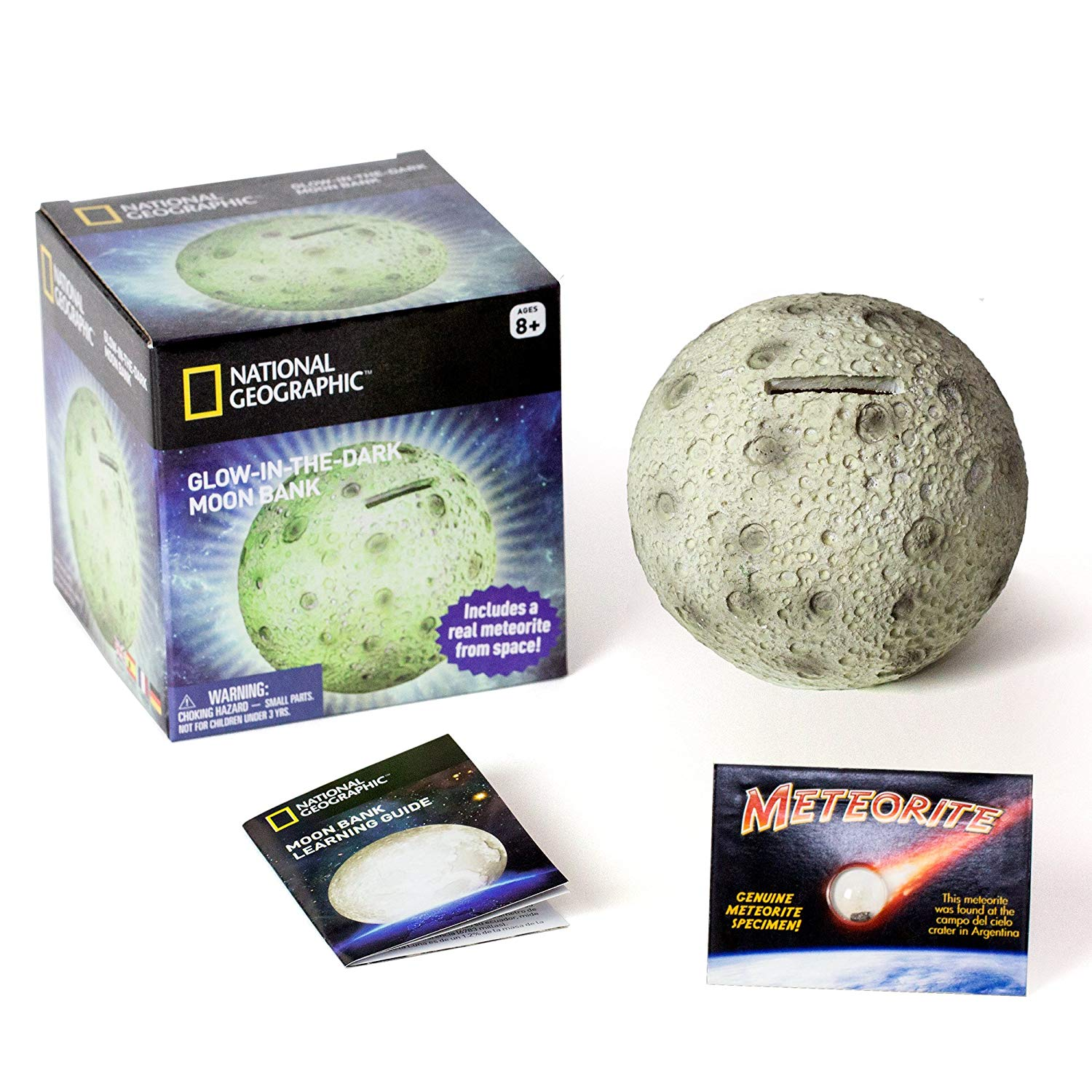 Gift for moon lovers Glowing Moon Money Bank for Kids