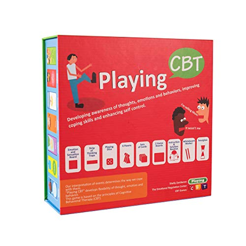 OT gifts - Playing CBT - Therapy Game to Develop Awareness of Thoughts, Emotions and behaviors for improving Social Skills, Coping Skills and Enhancing self Control